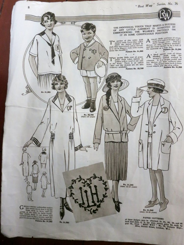 1920s children's fashions thedreamstress.com