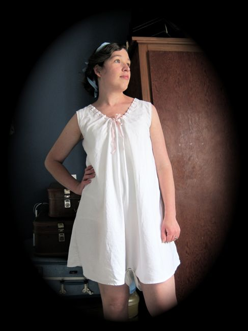 Wearing History's 1917 combinations thedreamstress.com