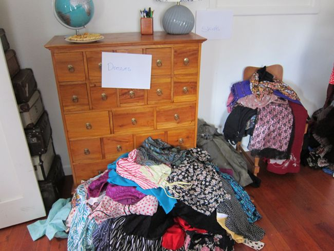 Clothing swap, thedreamstress.com