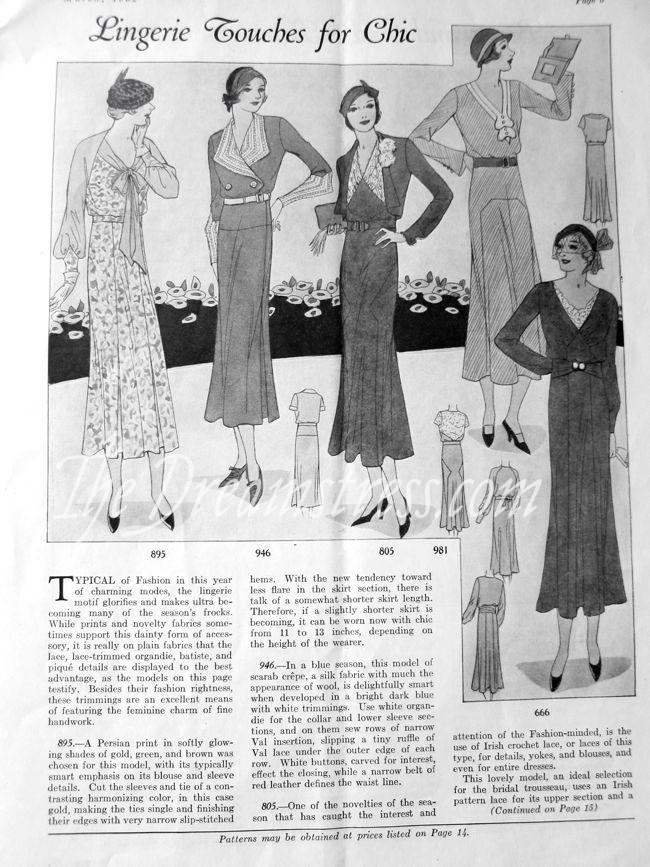 1932 Fashion Service Mag thdreamstress.com1