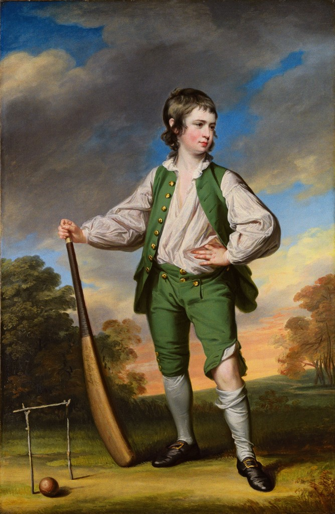 Francis Cotes, The Young Cricketer, 1768
