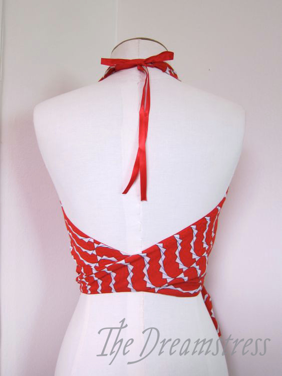 The 'Dazzle' 1930s halter thedreamstress.com