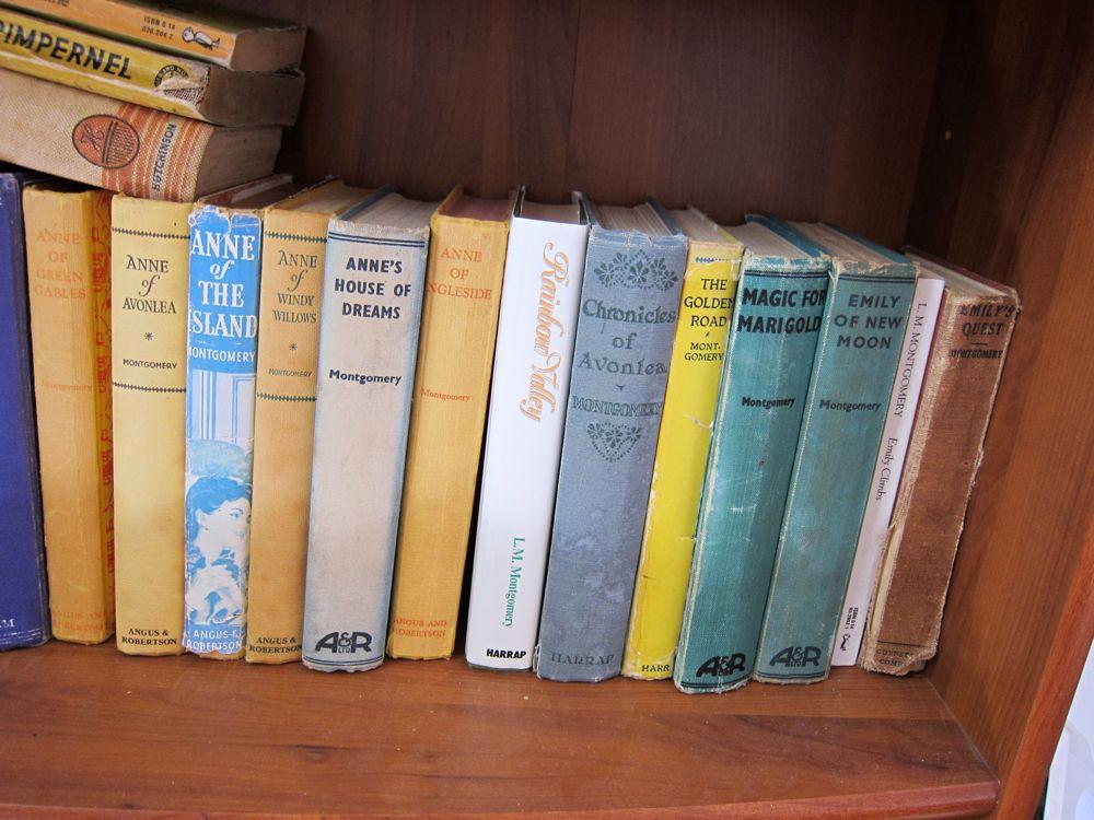 L.M. Montgomery Books thedreamstress.com