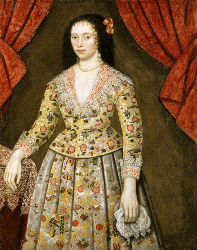 Elizabeth Craven (1600–1662), Lady Powis, by an artist of the British (English) School, National Trust, Powis Castle