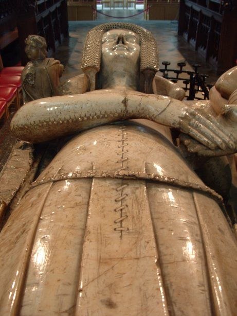 Effigy of Katherine, Countess of Warwick, died 1369