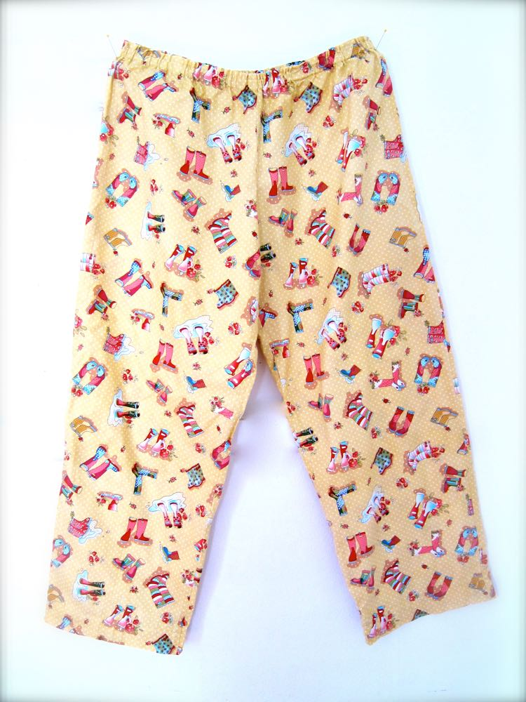 Making Pyjama pants thedreamstress.com1