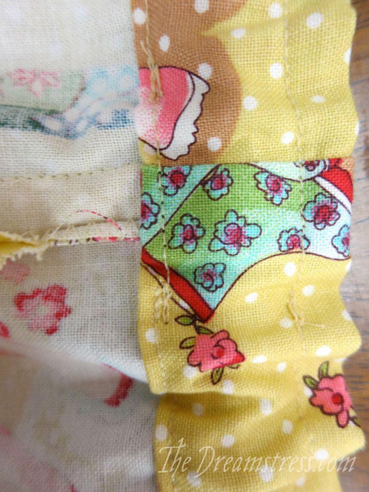 The sewn-closed gap