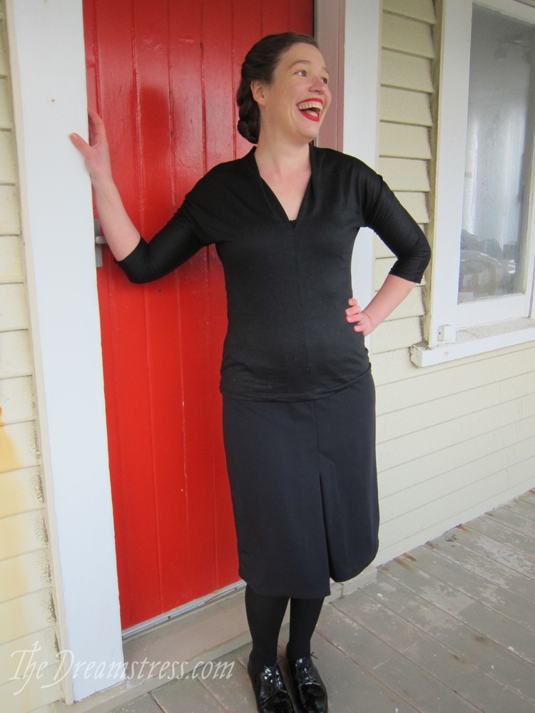 The 1930s inspired Stella Skirt thedreamstress.com - 7