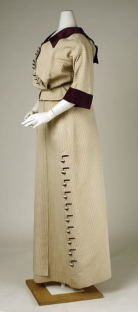 Walking suit, Hickson Inc., 1911, American silk, Metropolitan Museum of Art, 1976.290.7a-c
