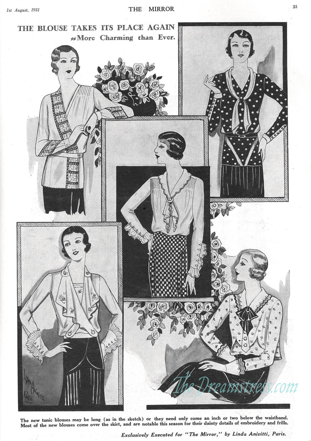 Winter 1931 fashions, thedreamstress.com2