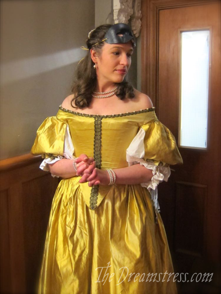 1660s Ninon at a Bastille Day Ball thedreamstress.com3