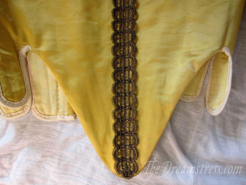 1660s Ninon bodice thedreamstress.com2