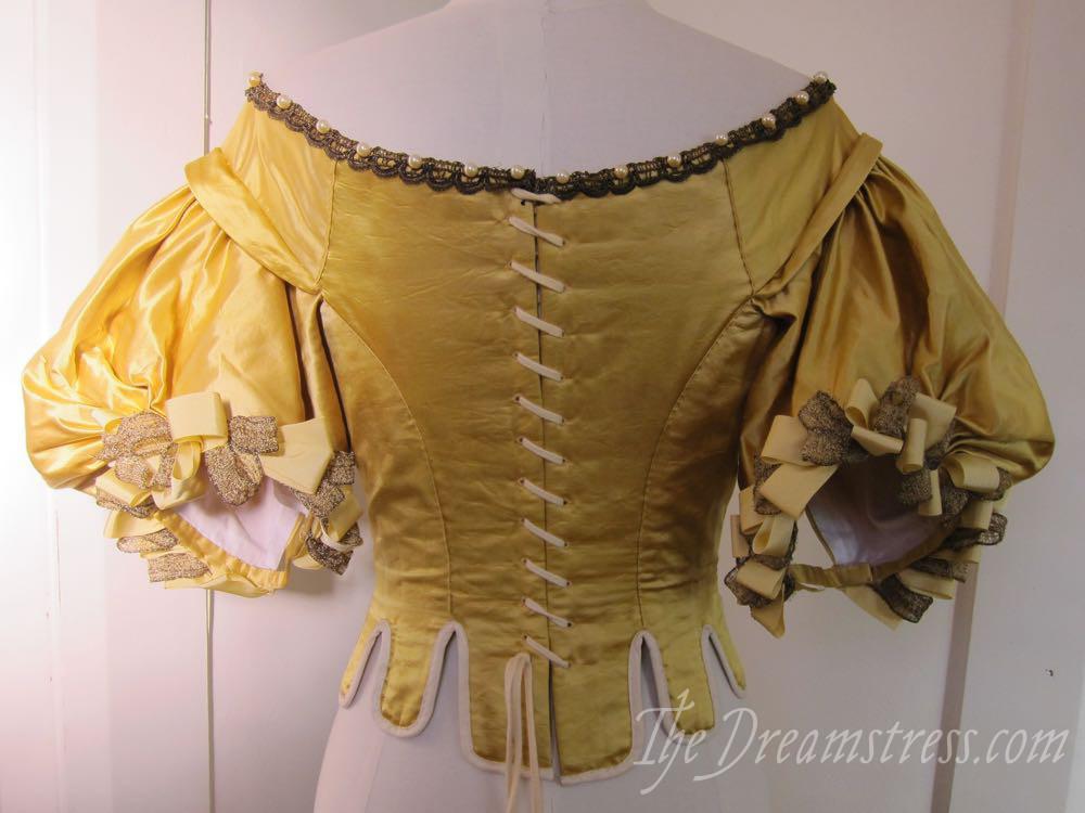 1660s Ninon bodice thedreamstress.com5