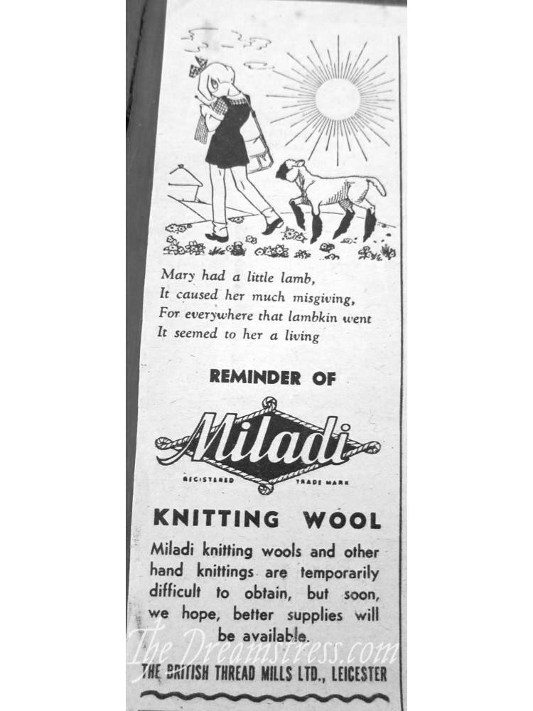 1945 advertisements thedreamstress.com2