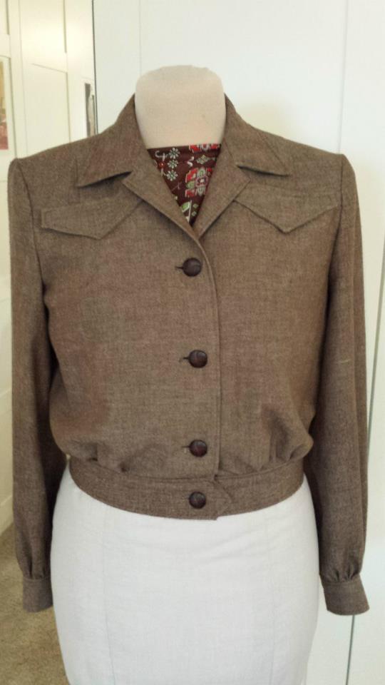 4 Cate's 1944 Eisenhower jacket