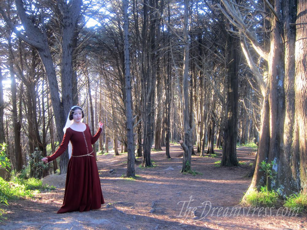 1350s-80s medieval gown thedreamstress.com11