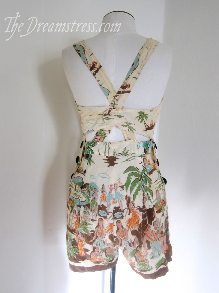 1930s Hawaiian playsuit thedreamstress.com02