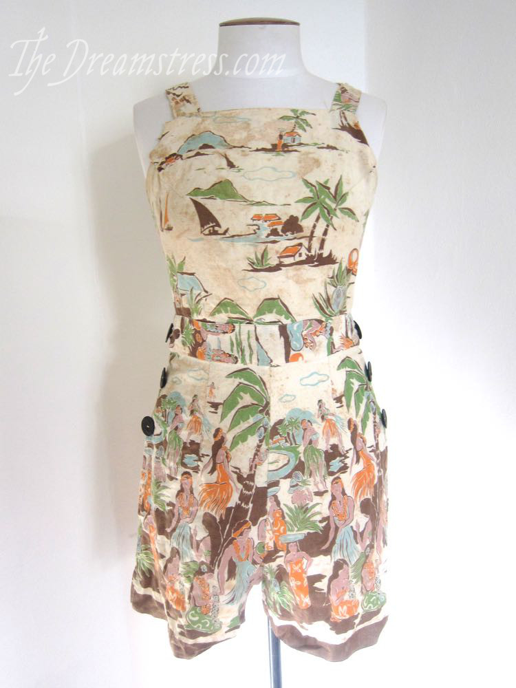 1930s Hawaiian playsuit thedreamstress.com03