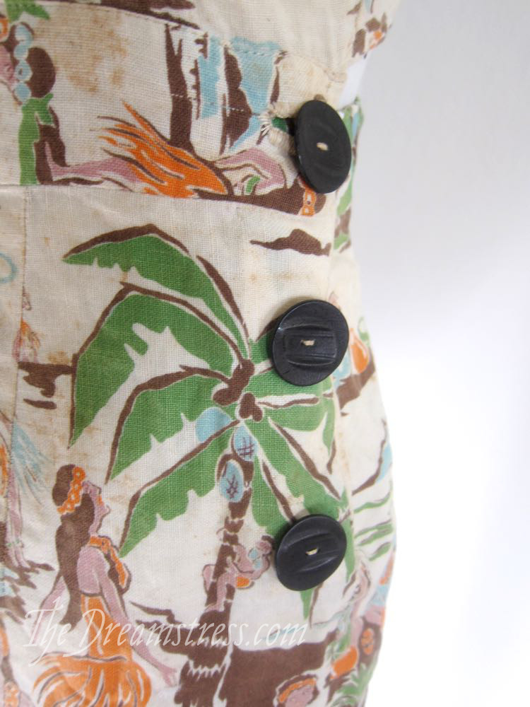1930s Hawaiian playsuit thedreamstress.com07