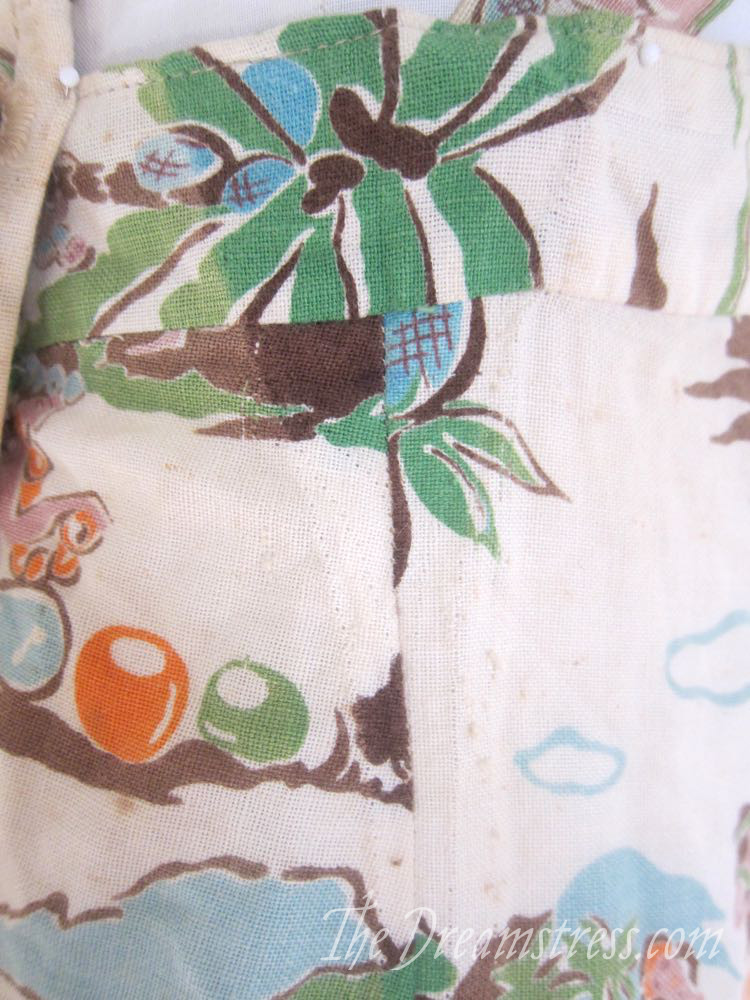 1930s Hawaiian playsuit thedreamstress.com09