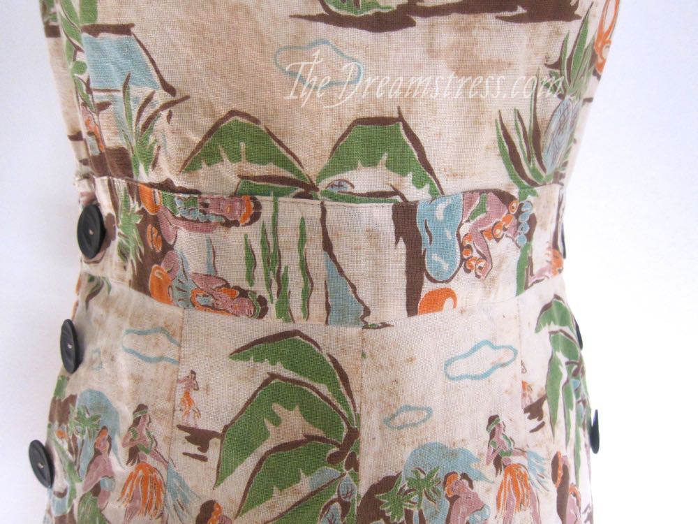 1930s Hawaiian playsuit thedreamstress.com10