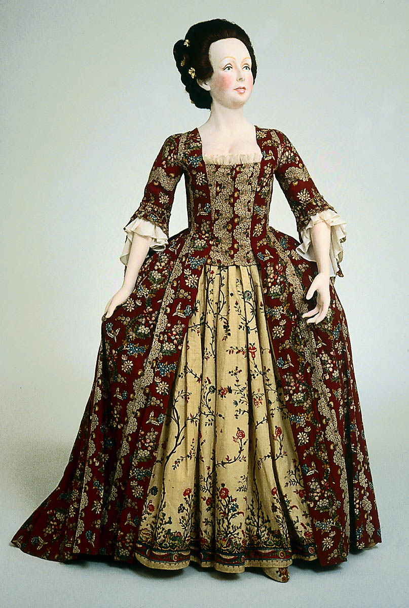 rate the dress 1770s pretty in prints the dreamstress