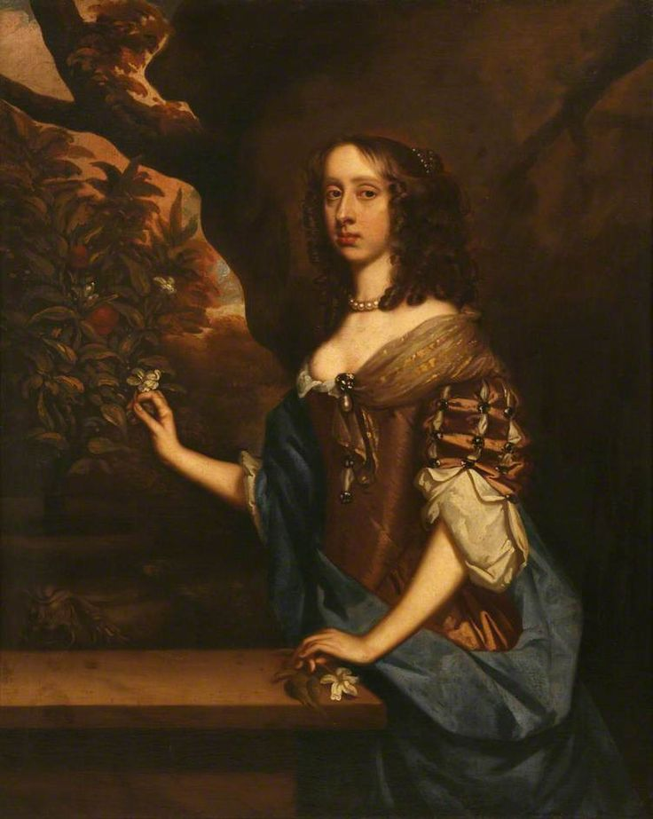 Jemima, 1st Countess of Sandwich, studio of Peter Lely, ca. 1660; (c) Mount Edgcumbe House; Supplied by The Public Catalogue Foundation