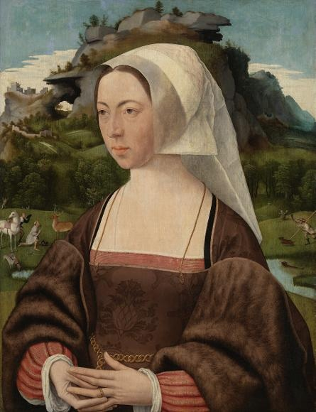 Portrait of a woman - Jan Jansz Mostaert, ca 1525, Rijksmuseum