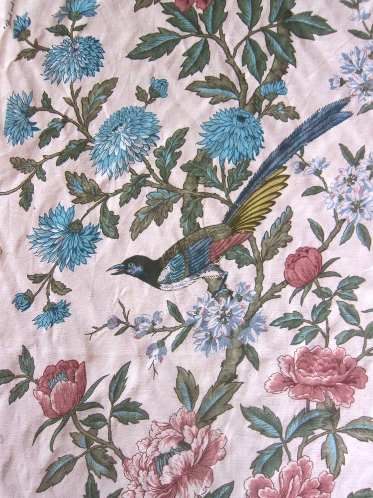 Vintage bird linen thedreamstress.com