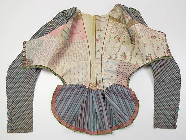 Jacket, late 18th century, French, silk, Purchase, Irene Lewisohn Bequest, 2010, Metropolitan Museum of Art, 2010.151
