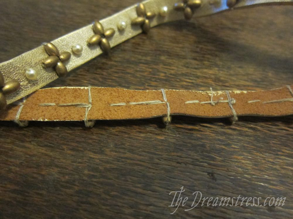 Making a medieval inspired belt thedreamstress.com12