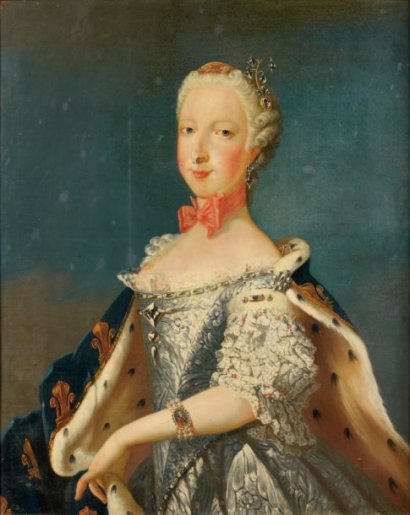 Maria Josepha of Saxony, unknown artist