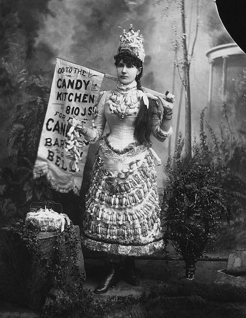 Candy Kitchen Girl, 1902