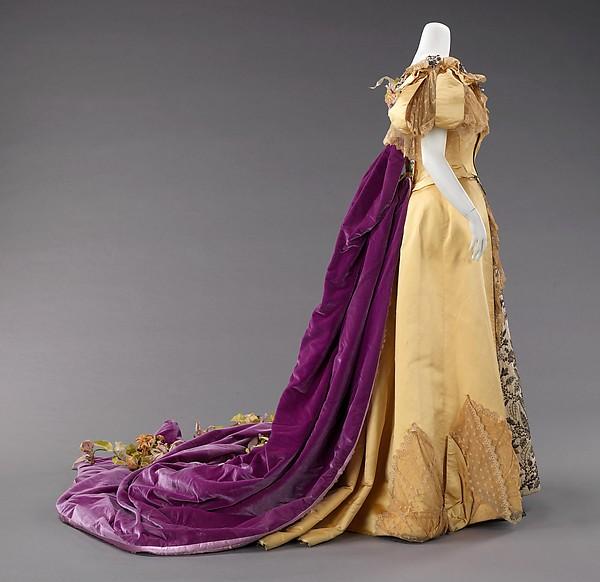 Emily Warren Roebling's Court presentation gown, 1896, Metropolitan Museum of Art, 2009.300.941a–e