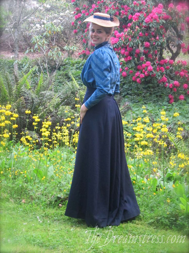 Sun 18th October, for a photoshoot at the Katherine Mansfield Birthplace