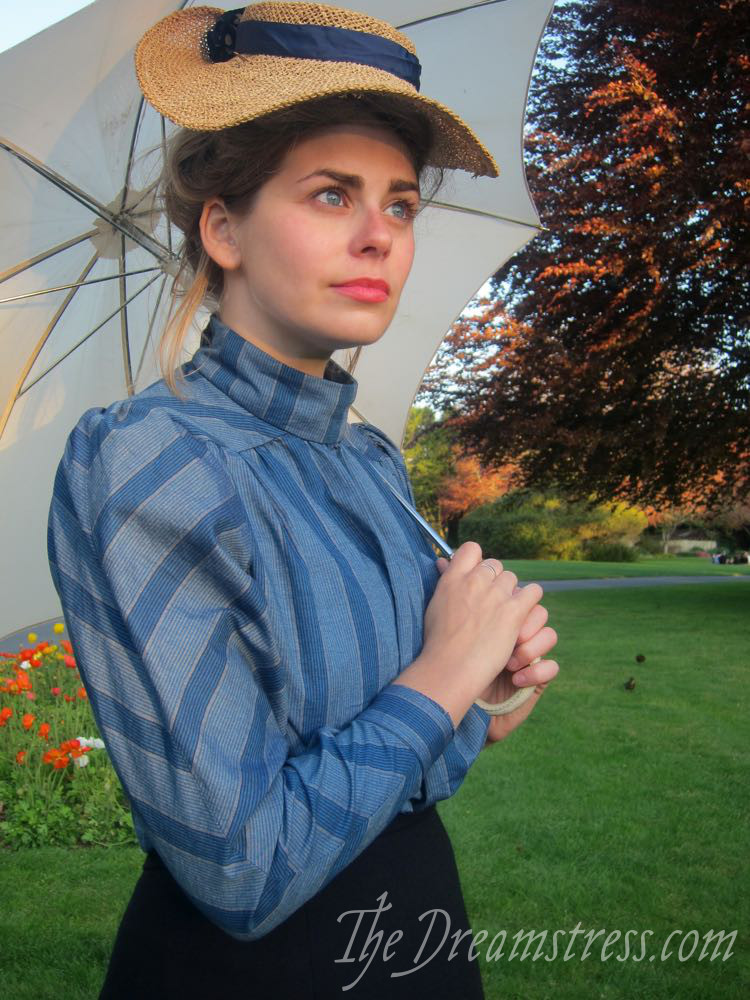 An Anne of Green Gables inspired Marilla Blouse thedreamstress.com