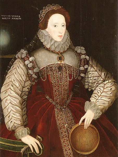 Elizabeth I, Sieve Portrait, George Gower, 1579