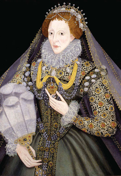 Elizabeth I of England by an unknown artist, 1570s
