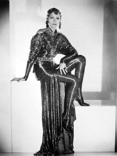 Greta Garbo in Mata Hari, costumes by Gilbert Adrian
