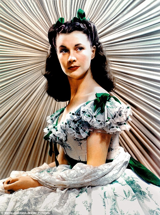 Vivien Leigh in Walter Plunkett's famous picnic dress for Gone WIth the Wind (1939)