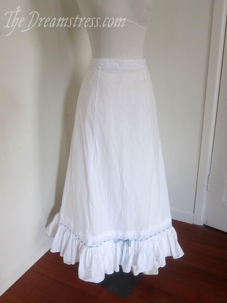 A 1900s petticoat thedreamstress.com
