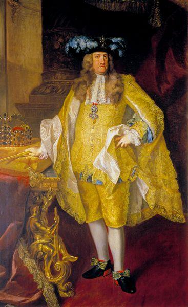 Charles VI, Holy Roman Emperor by Johann Gottfried Auerbach,1735