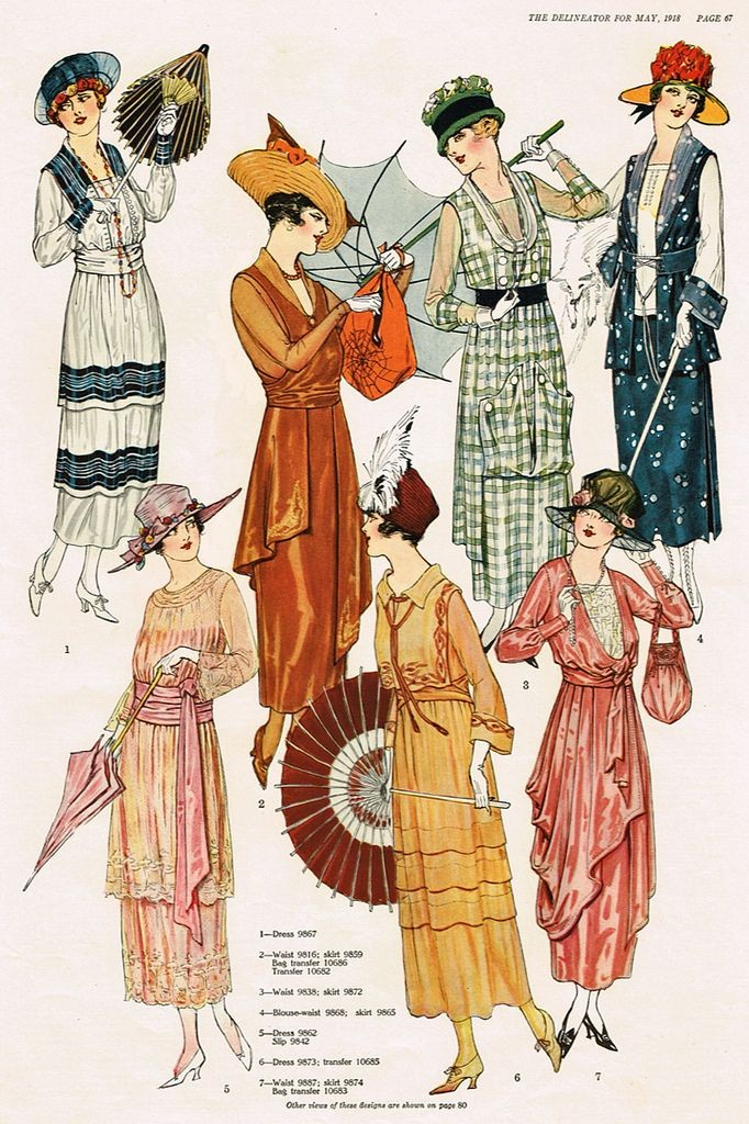 Fashions for May 1918