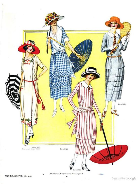 The Delineator, Fashions for July 1921