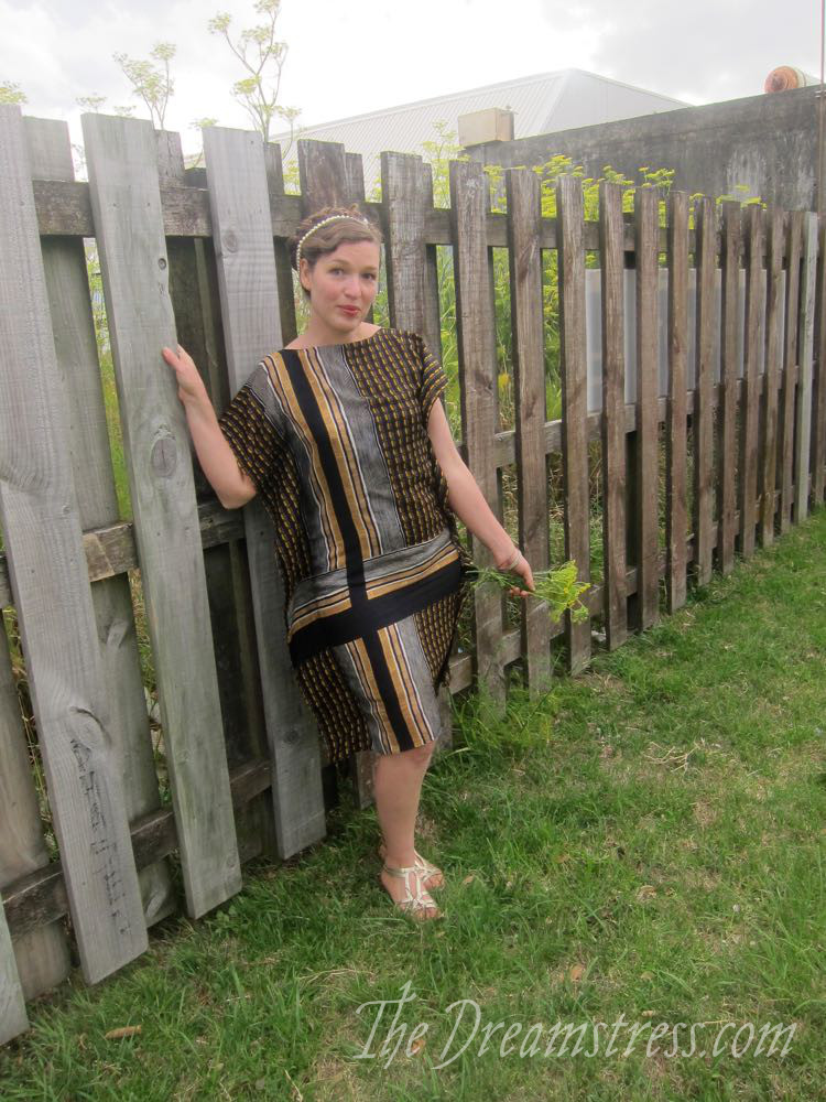 The Goddess of Small Happinesses frock