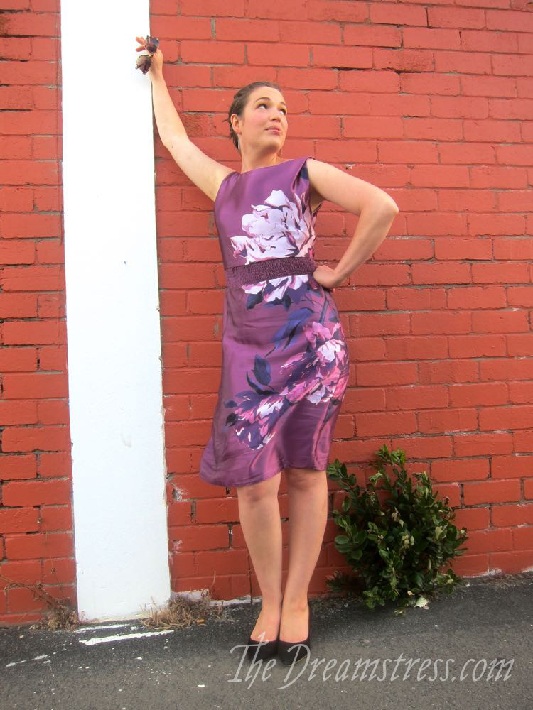 The Peonies shouldn't be Wallflowers frock, thedreamstress.com