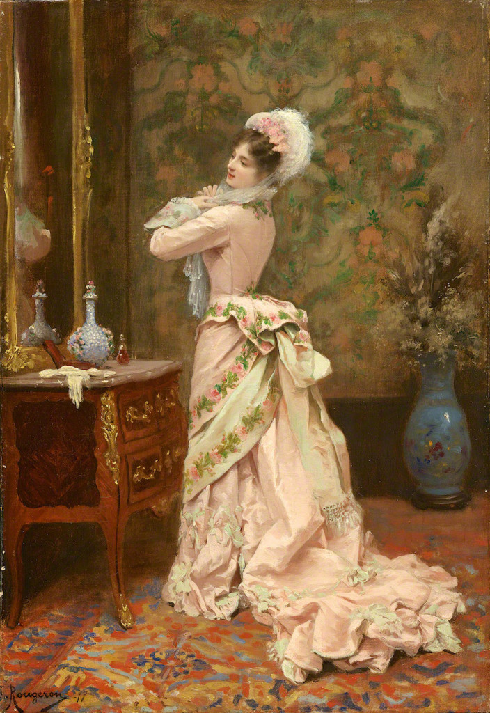"""""""Toilette"""", Jules James Rougeron (French), 1877"""