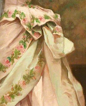 Toilette (bustle detail), Jules James Rougeron, 1877