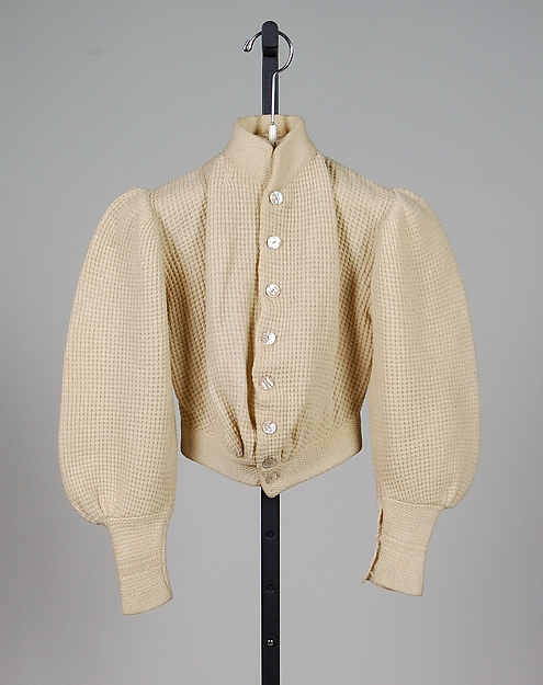 Cardigan sweater, 1900–1903, American, wool, , Metropolitan Museum of Art, 2009.300.2358