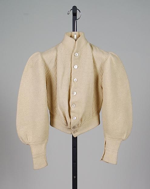 Cardigan sweater, 1900–1903, American, wool, , Metropolitan Museum of Art, 2009.300.2358